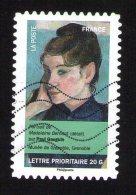 Timbre Oblitéré Used Stamp Journée De La Femme 2012 Portrait De Madeleine Bernard Paul Gauguin Musée Grenoble FRANCE - France