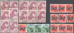 _3v992: Lot Of  33 Stamps...zegels... Om Verder Uit Te Zoeken.... - Japon