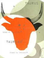 Carte Entier Postale Neuve De CANADA - Port Payé - Signe Zodiaque Le Taureau - Vaches