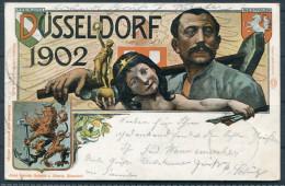 Dusseldorf 1902 Ausstellung Exposition - Exhibitions