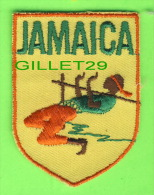 ÉCUSSON EN TISSU - BADGE - JAMAICA - - Ecussons Tissu