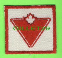 ÉCUSSON EN TISSU - BADGE - CANADIAN TIRE STORE - - Escudos En Tela