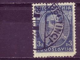 KING ALEXANDER-3 DIN-POSTMARK- BELTINCI-SLOVENIA-YUGOSLAVIA-1931 - Gebraucht