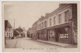 LA CERLANGUE - 76 - Seine Maritime - La Grande Rue - Magasins - France