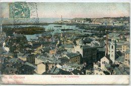 Genova- Panorama Da Castelletto - Genova