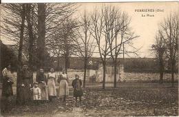 60 - FERRIERES (oise) - La  Place - Andere Gemeenten