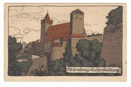 Germany, Bavaria, Nurnberg, Kaiserstallung, Castle, Post-Karte, Postcard - Nuernberg