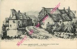 03. Le Vieux  MONTLUCON . Le Ruisseau à Saint Jean . D'après Une Gravure Du Temps . - Montlucon