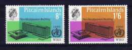 Pitcairn Islands - 1966 - New WHO HQ Building - MH - Pitcairn