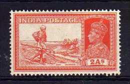 India - 1937 - 2 Annas Definitive - MH - India (...-1947)