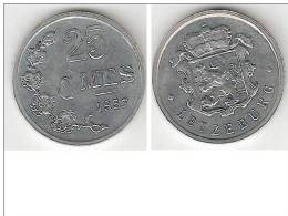 Luxembourg  25 Centimes 1957   Km 45a.1  Unc !!!! - Luxembourg