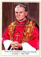 Zaïre Bf 20 Visite Au Zaïre Du Pape Jean Paul II - Zaïre