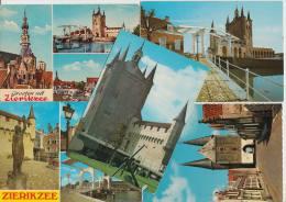 5 POSTCARDS: ZIERIKZEE (Schouwen-Duiveland, Zeeland - HOLLAND / Nederland) - 2 Scans - Postkaarten