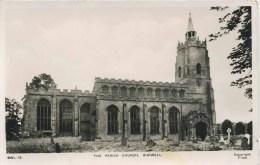 CAMBS - BURWELL PARISH  CHURCH RP 1952 Ca170 - England