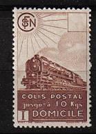 Colis Postaux * N° 174 -   (2F70) - Brun -. - Neufs