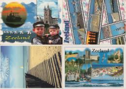 8 POSTCARDS: ZEELAND  ( Zeeland - HOLLAND / Nederland) - 3 Scans - Postkaarten