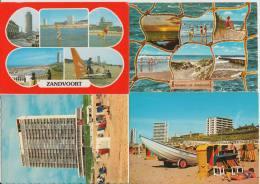 13 POSTCARDS: ZANDVOORT  ( Noord-Holland - HOLLAND / Nederland) - 4 Scans - Postkaarten