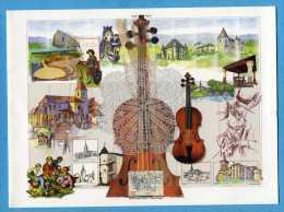 Imagerie D'EPINAL Violon  : Création Gacia Année 2002 - Ohne Zuordnung