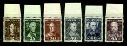AUSTRIA  1935  MNH OG  617-22  ** - 1918-1945 1st Republic