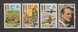 Falkland Islands 1981 Duke Of Edinburgh Awards Set 4 MNH - Falkland Islands