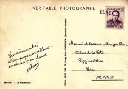Griffe D'annulation Du Département De L' Eure Sur CPSM Du Maroc Avec N°440 Y&T Du Maroc - FRANCO DE PORT - 1961-....
