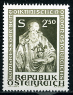 Österreich - Michel 1642 - ** Postfrisch - Kongreß Der Benediktinischen Orden - Wert: 0,50 Mi€ - 1945-.... 2. Republik
