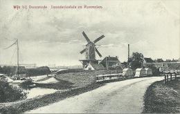Duurstede - Topkaart - Inundatiesluis En Runmolen - 1919 ( Verso Zien ) - Nederland