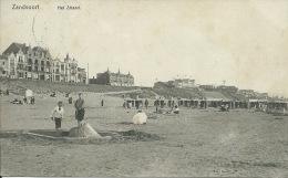Zandvoort - Het Strand - 1910 ( Verso Zien ) - Zandvoort
