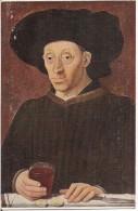 LE MAITRE DE 1456  L´HOMME AU VERRE DE VIN  MUSEE DU LOUVRE - Musea