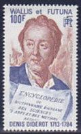 Wallis Und Futuna 1984. Schriftsteller D. Diderot, Mit Büchern (B.1356) - Ungebraucht
