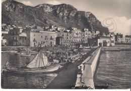 Palermo - Porticello - Panorama Dal Porto Con Pescherecci Alla Fonda - Palermo