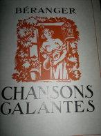 CHANSONS GALANTES BERANGER - Poésie