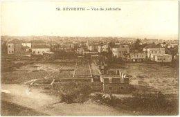 Beyrouth - Vue De Achrafie - Líbano