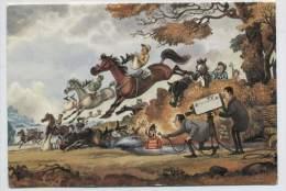 Norman Thelwell Steeple-chase Plooikaart Ongebruikt 1976 - Autres Illustrateurs