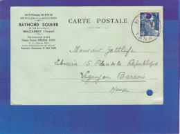 CPA - MAZAMET - Maroquinerie Raymond SOULIER - Articles Pour Ecoliers - 1948 - Mazamet