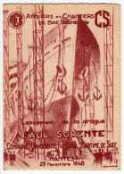 Marine - Bateaux - Ateliers Et Chantiers De Bretagne - Lancement De La Drague Paul Solente - 27 Novembre 1948 - Faire-part