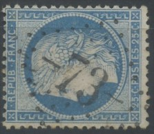 FRANCE AUDE GC 73 SUR N°60A ALZONNE , 1°CHOIX/TB - 1849-1876: Klassieke Periode