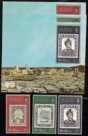 Brunei,  Scott 2013 # 317-319a,  Issued 1984,   Set Of 3 + 3 S/S,  NH,  Cat $ 15.90 - Brunei (1984-...)