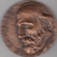 Garibaldi, Medaglia In Bronzo Garibaldi. Giannantonio Bucci Centenario Della Morte Il P.R.I. Fusignano Lugo Ravenna - Italy