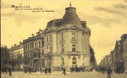 BRUXELLES COIN DE L' AVENUE LOUISE ET CHAUSSEE DE CHARLEROI     + TRAM !!! - Avenues, Boulevards