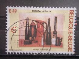 BELGIUM, 2003, Used 49c, Festival, Scott 1980 - Used Stamps