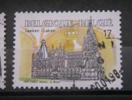 BELGIUM, 1997, Used 17f, Notre Dame Church, Laeken Scott 1658 - Belgium