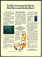 Reklame Werbeanzeige 1975 ,  Becel  -  Diät-Speiseöl  /  Diät-Margarine - Andere Sammlungen