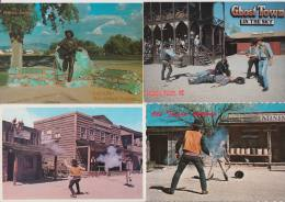 11 POSTCARDS: COWBOYS - USA - 4 Scans - Postkaarten