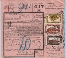 Spoorwegdoc, Afst. GREMBERGEN 16/01/1951 (lijn Dendermonde - Sint-Niklaas), Afz.: Klooster Grembergen - 1942-1951