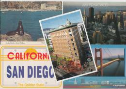 5 POSTCARDS: CALIFORNIA  - USA - 2 Scans - Postkaarten