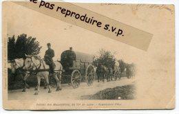 - Retour De  Manoeuvres Du 75 éme De Ligne, Précurseur, Septembre 1901, En Charrette, Chevaux, écrite, Très Rare, Scans. - Manoeuvres