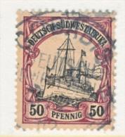 Germany South West Africa  20  (o)   No  Wmk.  GOBABIS  Cd. - Colony: German South West Africa