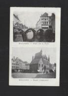AK Malines Pont Sur La Dyne/Musee Communal - Mechelen