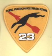 AERONAUTICA MILITARE - Reparti Di Volo - Distintivo/patch Originale Da Tuta Di Volo - 23° Gruppo - Armée De L'air